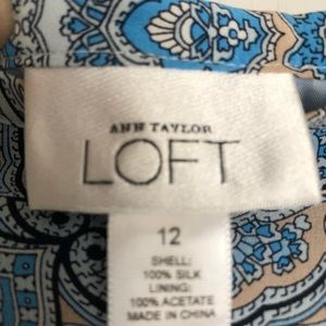 LOFT Skirts - Brand new with tags silk skirt